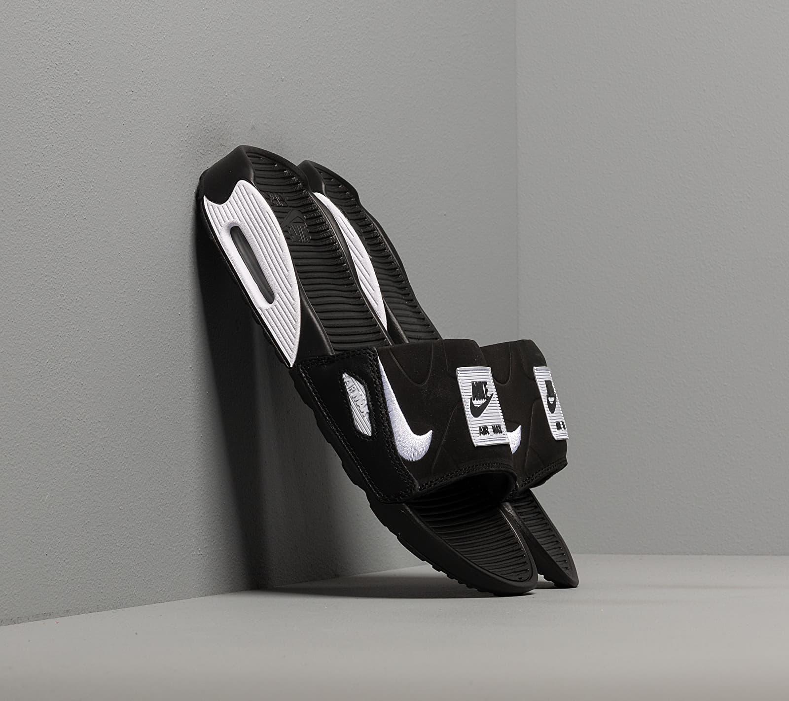 Nike Wmns Air Max 90 Slide Black/ White EUR 36.5