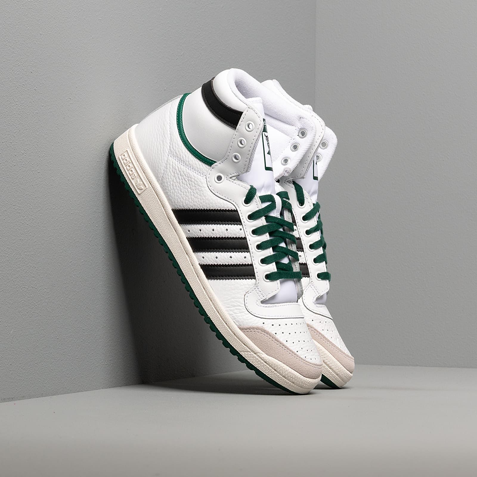 Pánské tenisky a boty adidas Top Ten Hi Ftw White/ Core Black/ Core Green