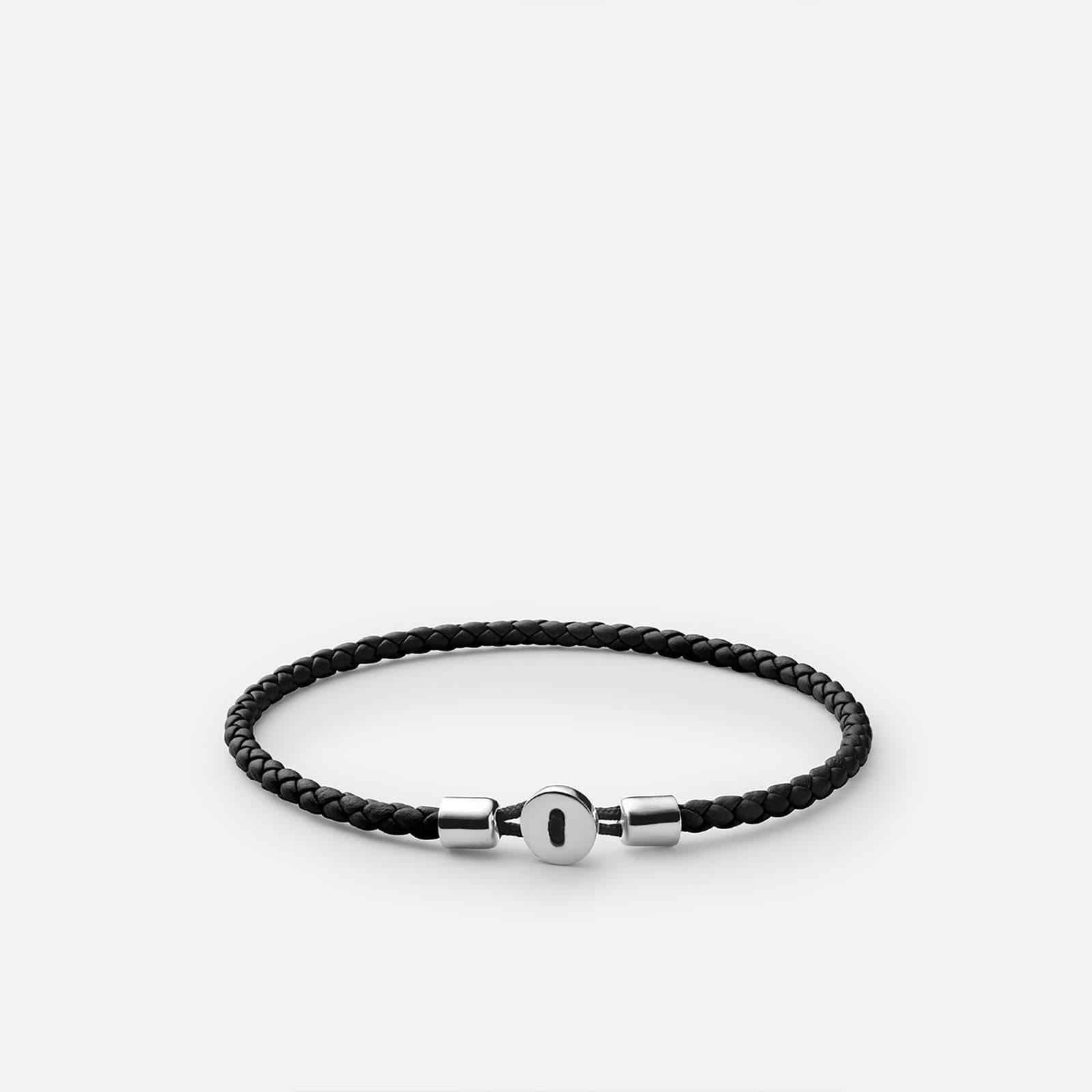 Ékszerek Miansai Nexus Leather Bracelet Black