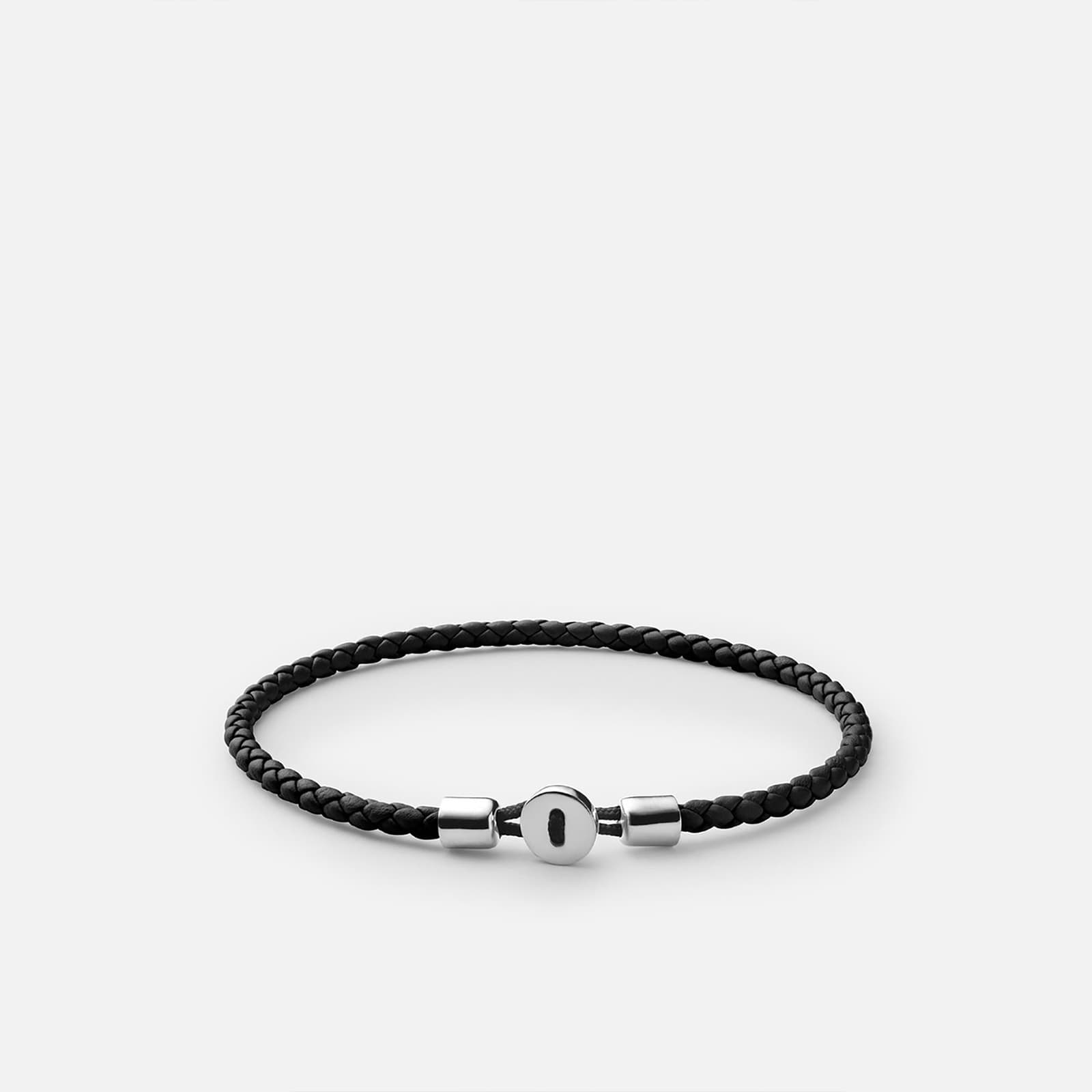 Schmuck Miansai Nexus Leather Bracelet Black
