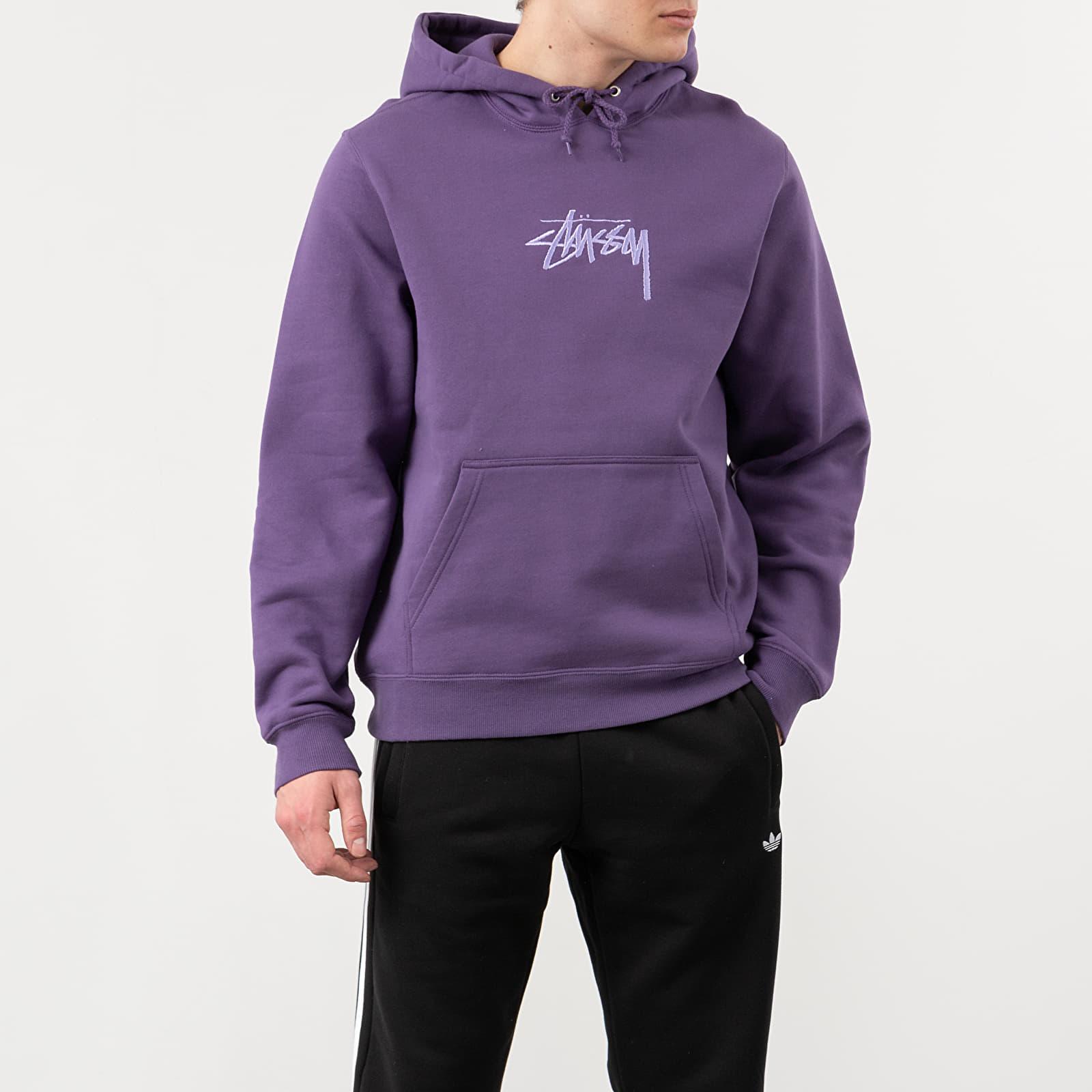 Sweatshirts Stüssy Basic Hoodie Navy   Footshop