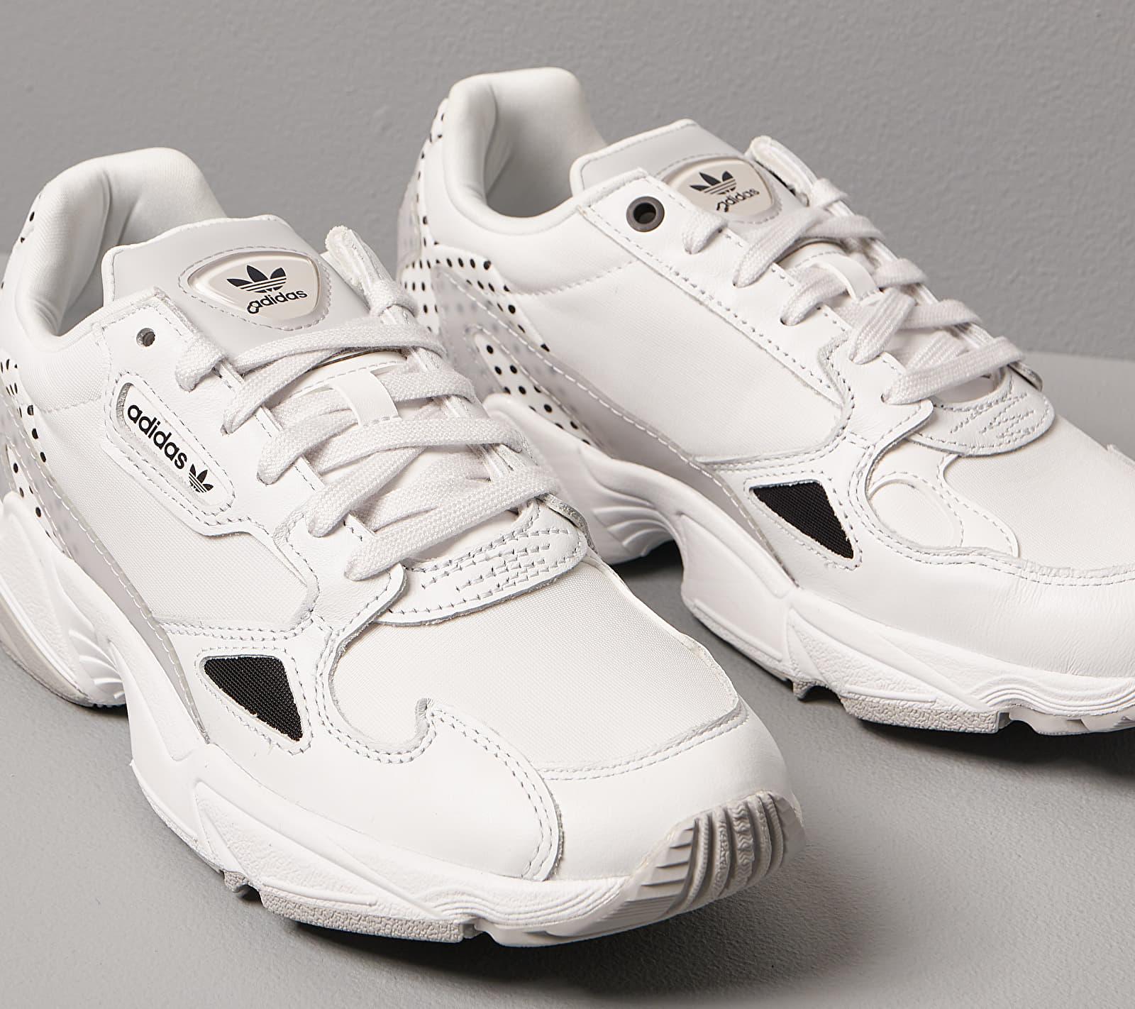 adidas Falcon W Crystal White/ Core Black/ Grey Two