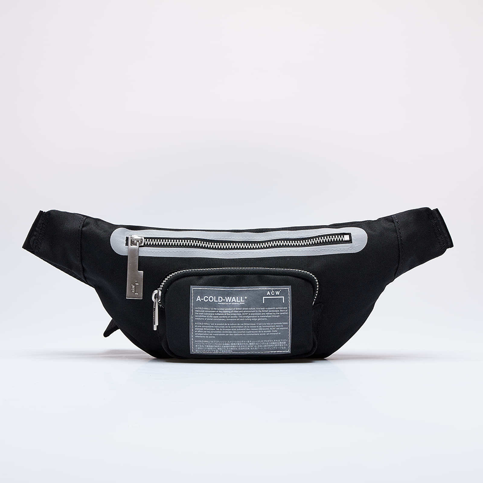 Waist bags A-COLD-WALL* Mission Statement Waistbag Black