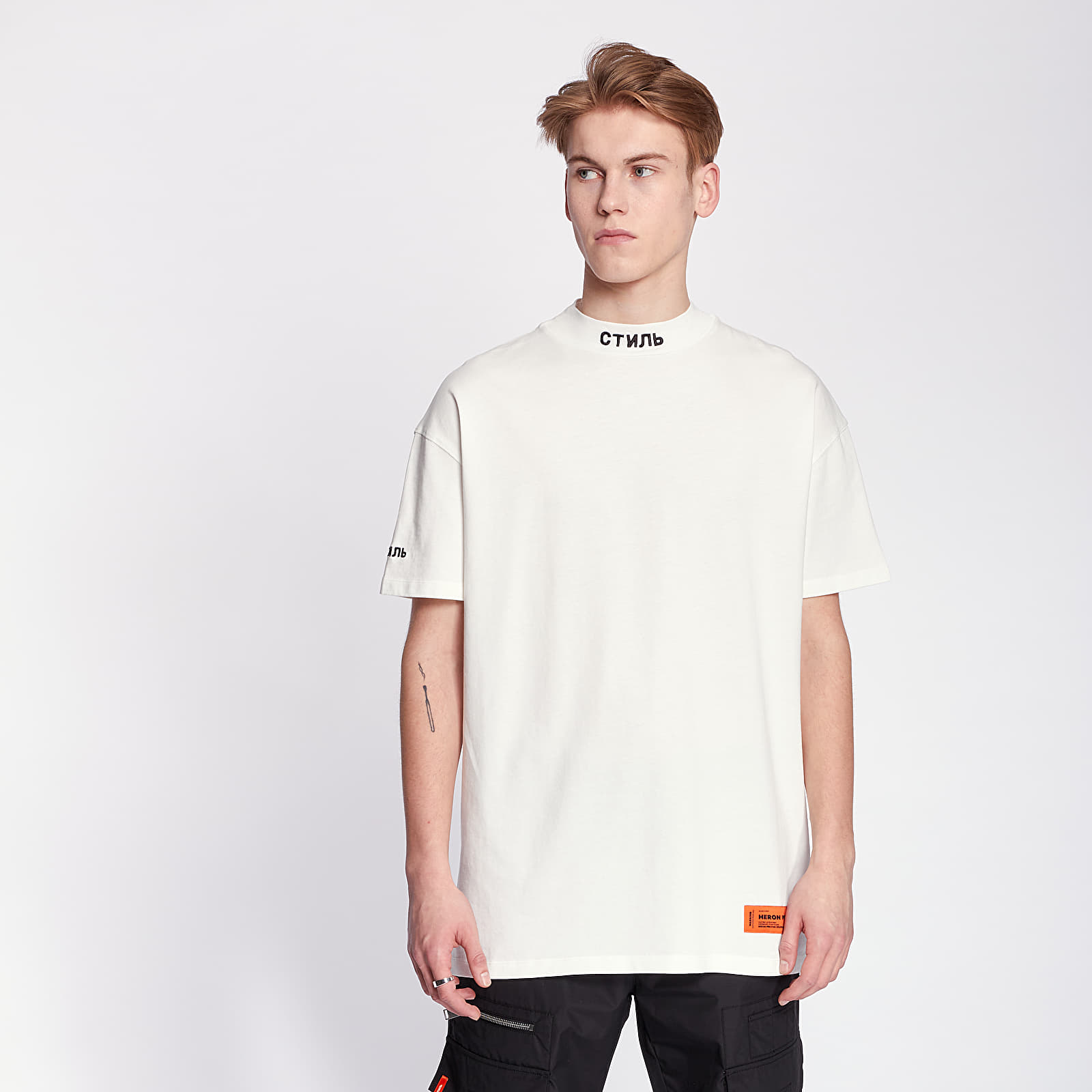 HERON PRESTON Turtleneck Tee