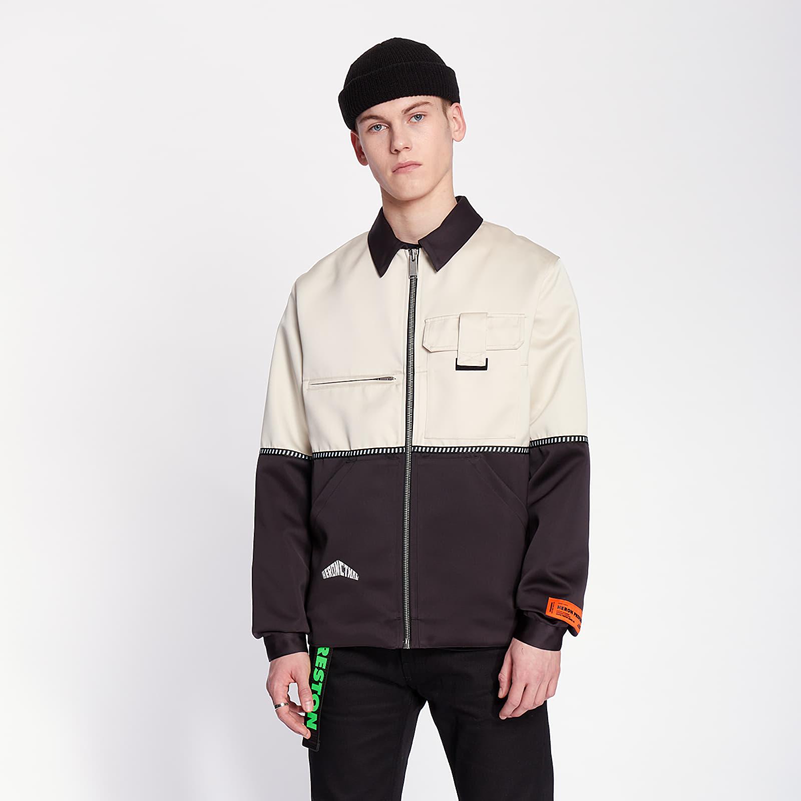 Jackets HERON PRESTON Mikado Workers Jacket Black/ White