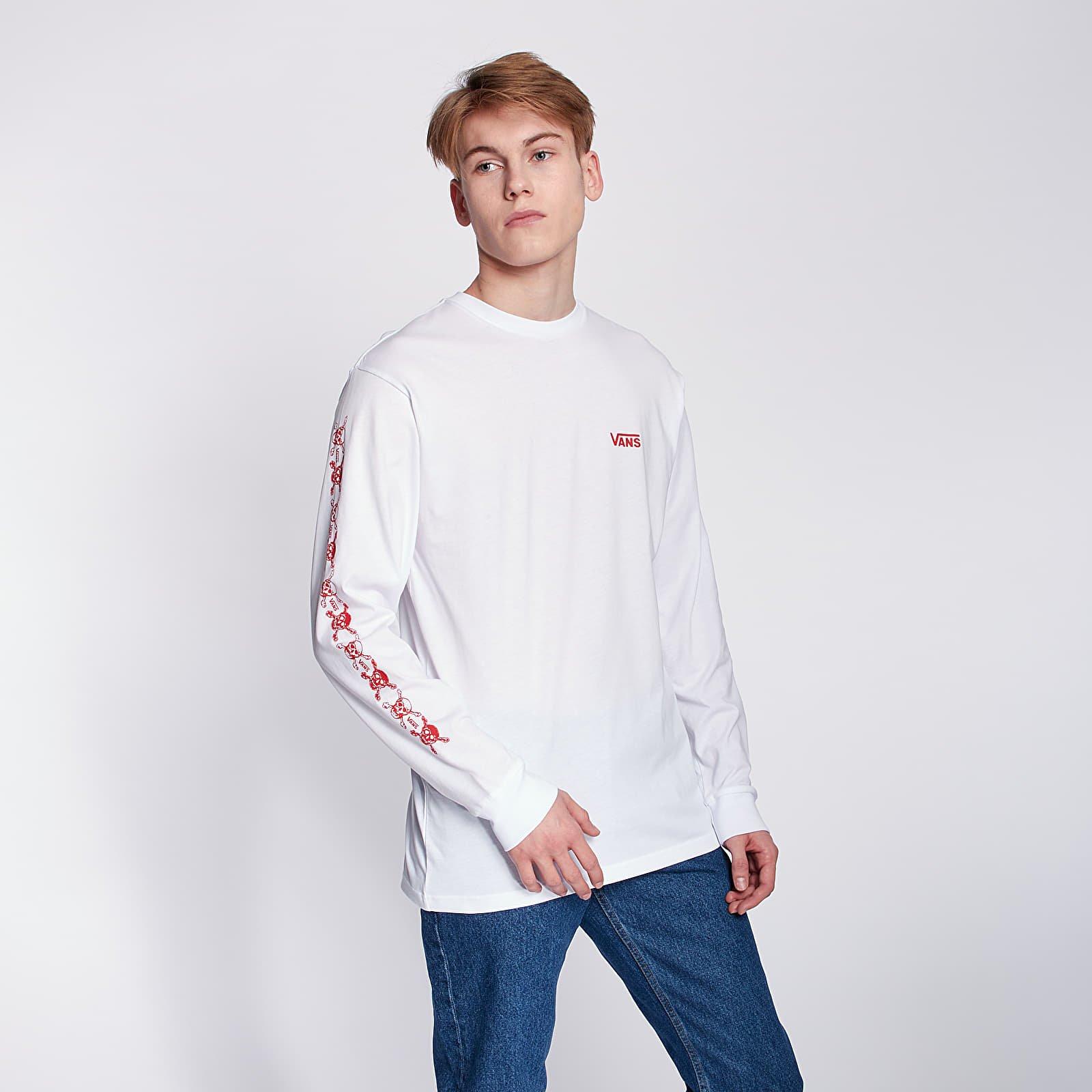 T-shirts Vans Anaheim Factory Long Sleeve Tee White