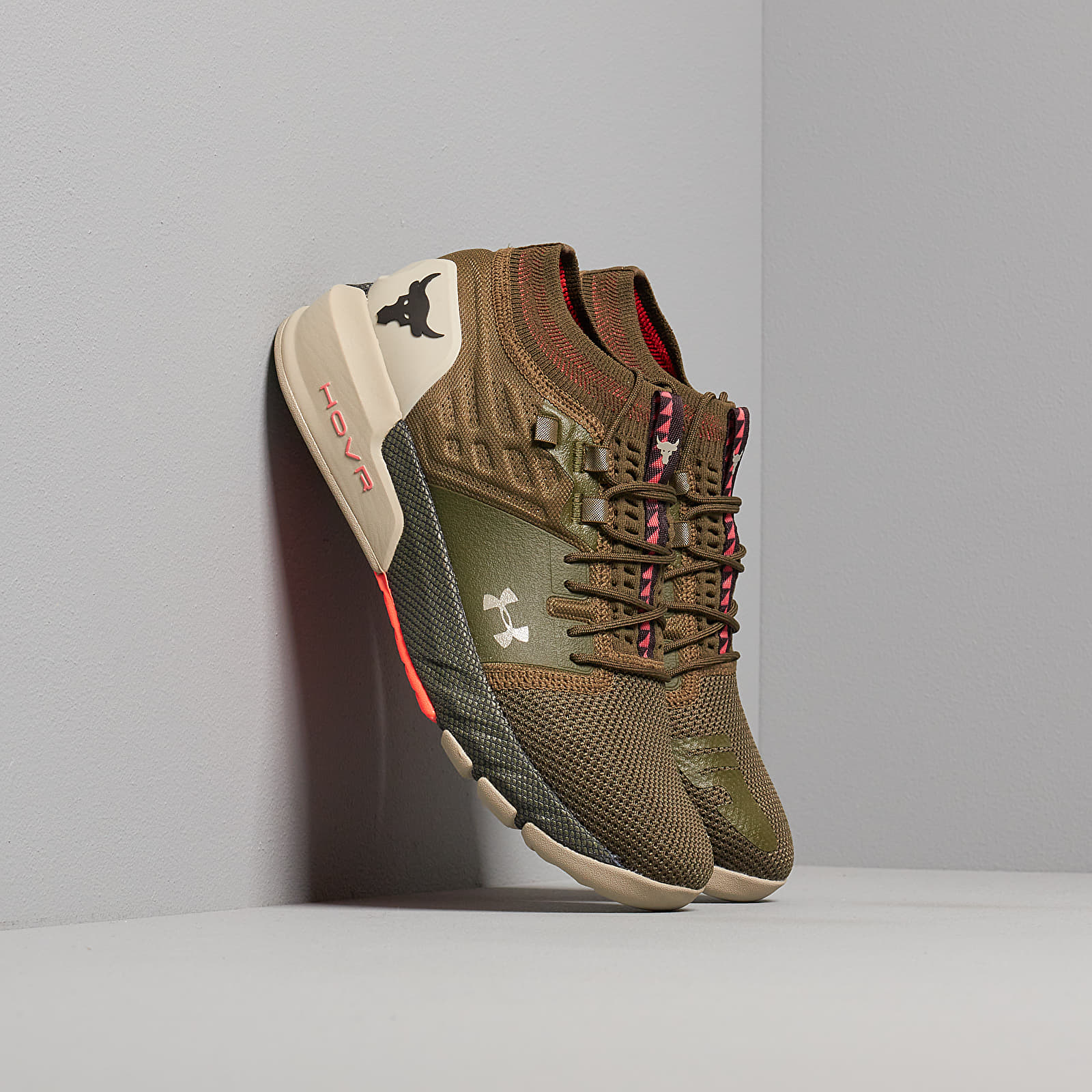 shoes Under Armour Project Rock 2 Green