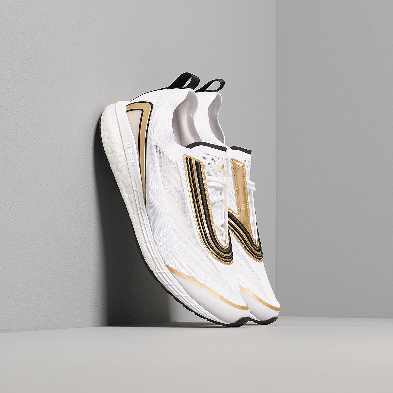 Women's shoes adidas x Stella McCartney Boston S. Ftw White/ Gold Butter/ Ftw White