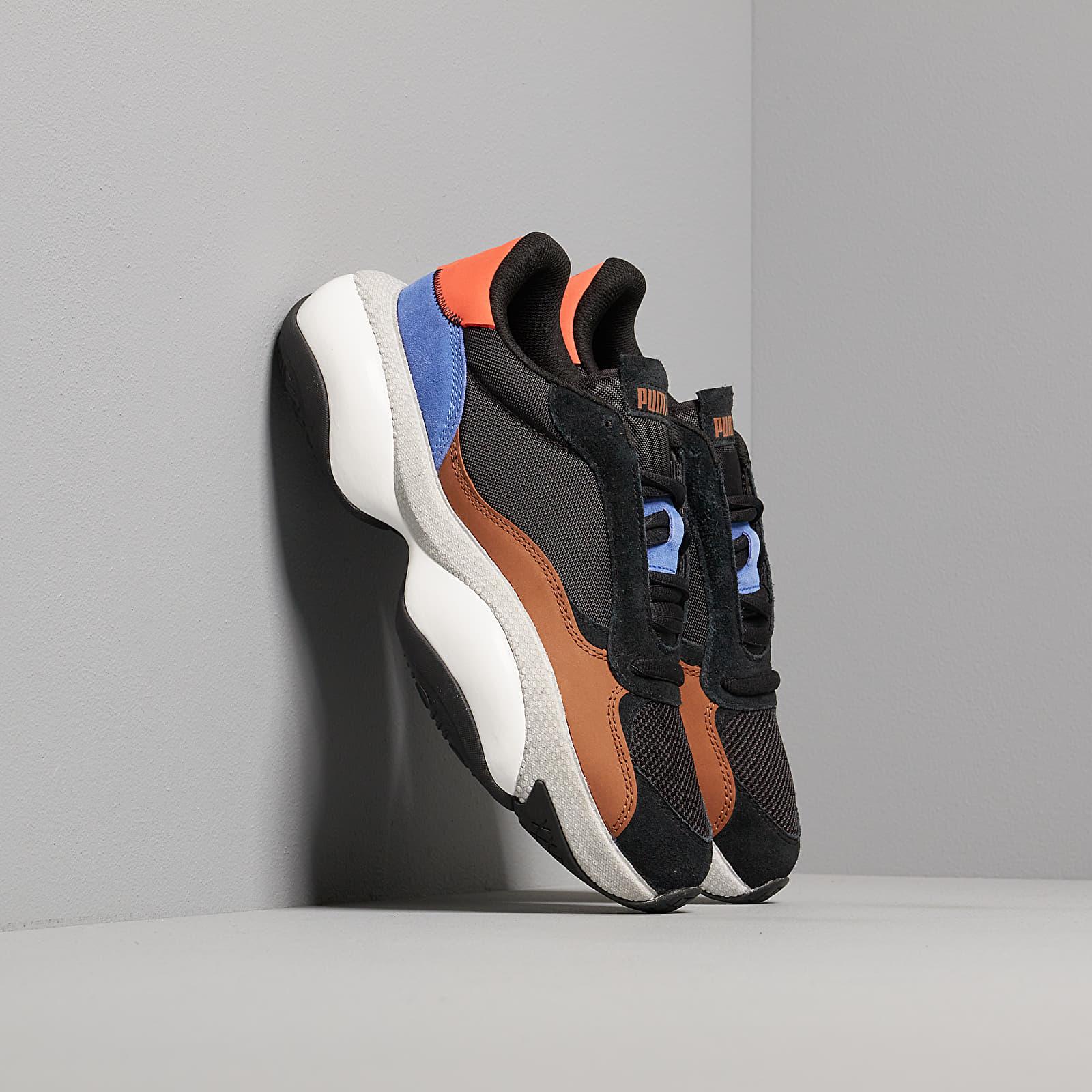 Men's shoes Puma Alteration Premium Leather Puma Black-Partridge