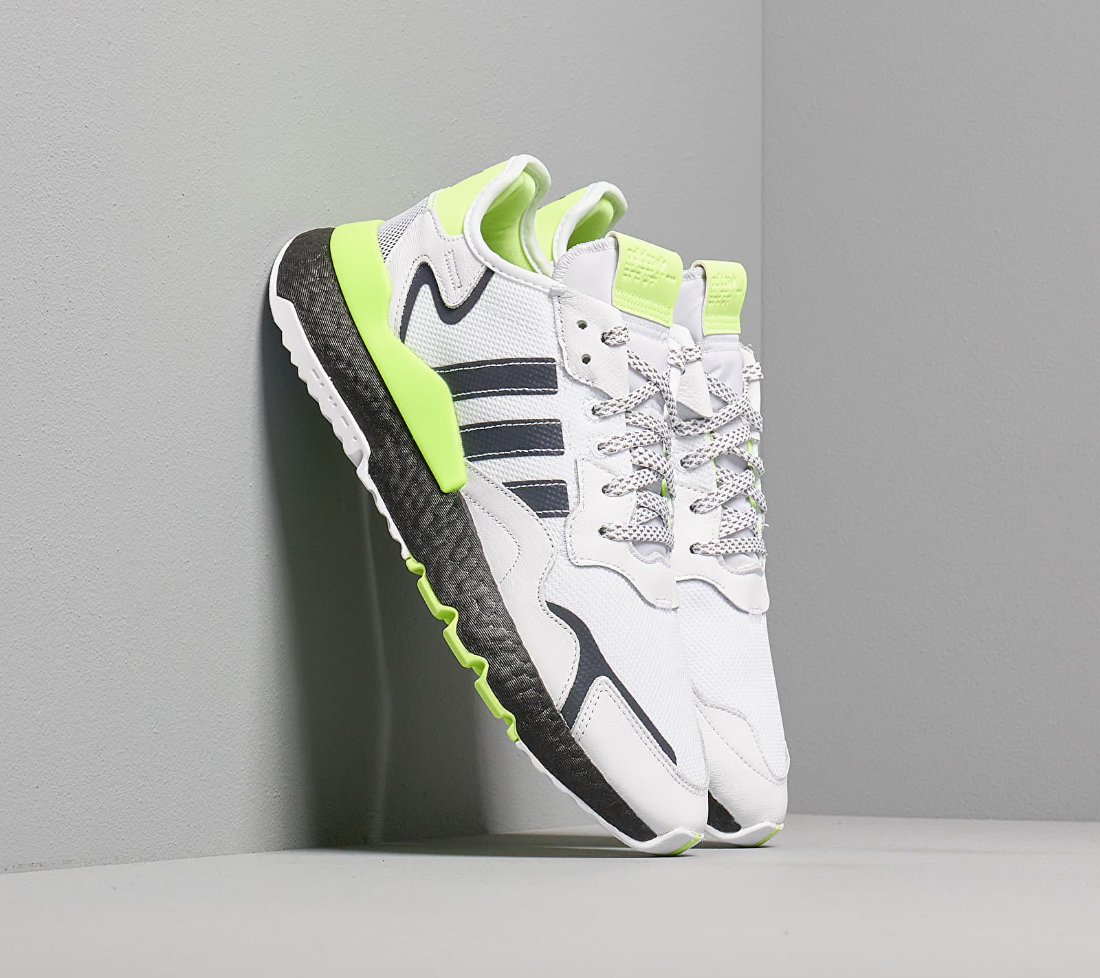 adidas Nite Jogger Ftw White/ Core Black/ Siggnr EUR 41 1/3
