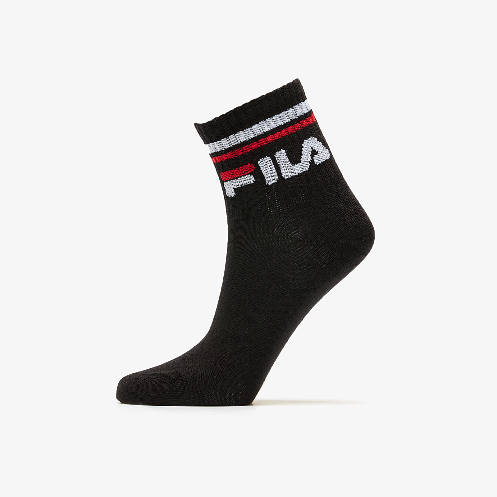 Calcetines FILA Calza Quarter 3Pack Socks Black