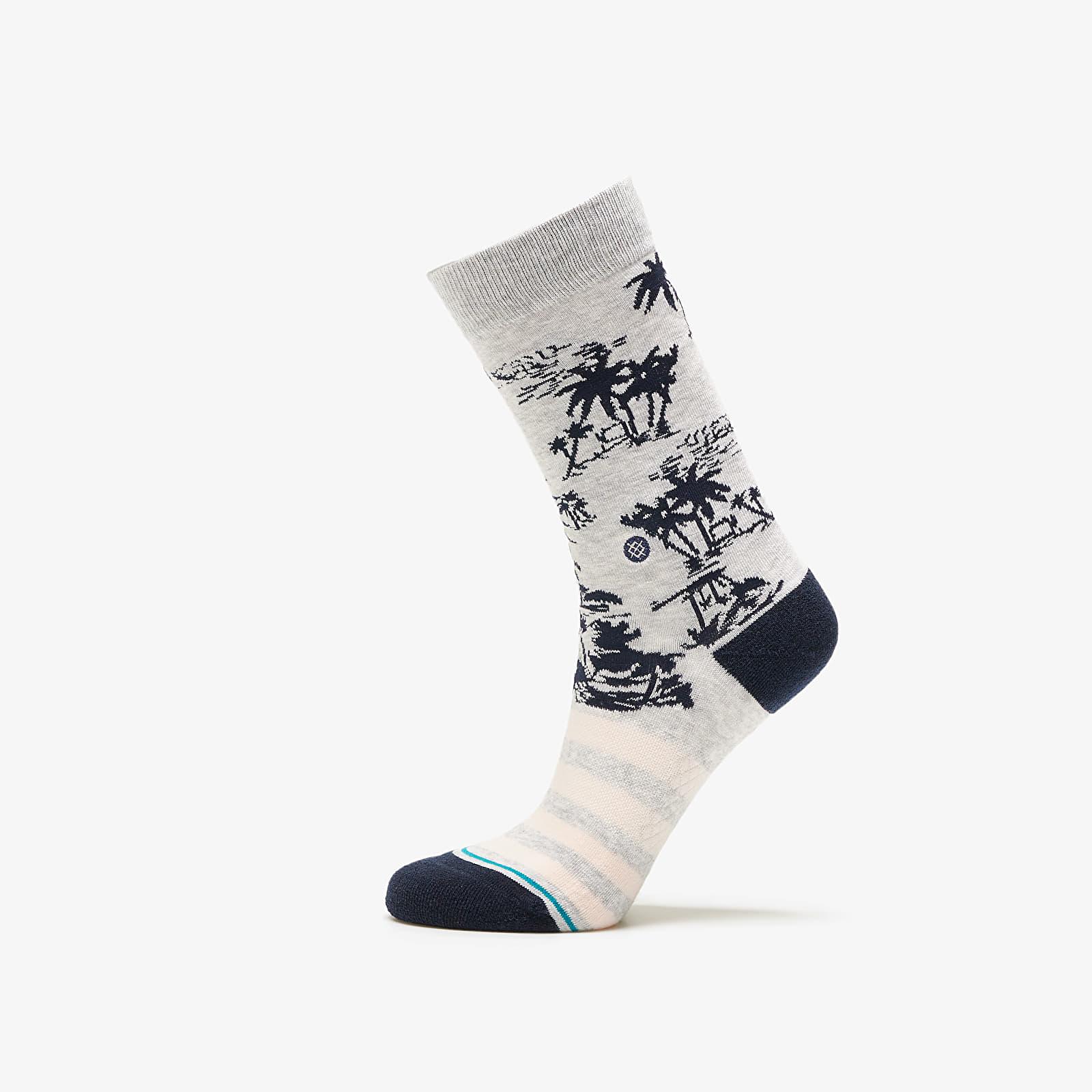 Ponožky Stance Harbor Crew Socks Grey