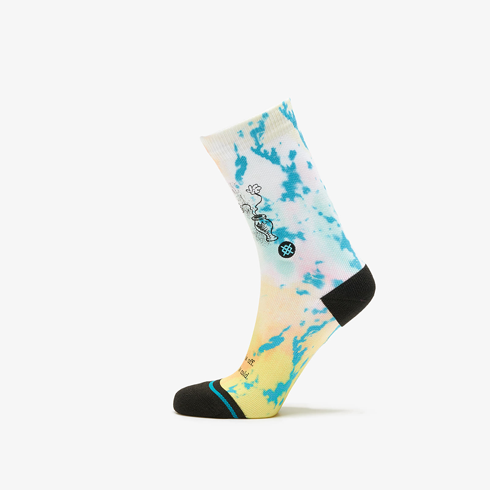 Ponožky Stance x Dr. Seuss Shoe Is Off Socks Multicolor