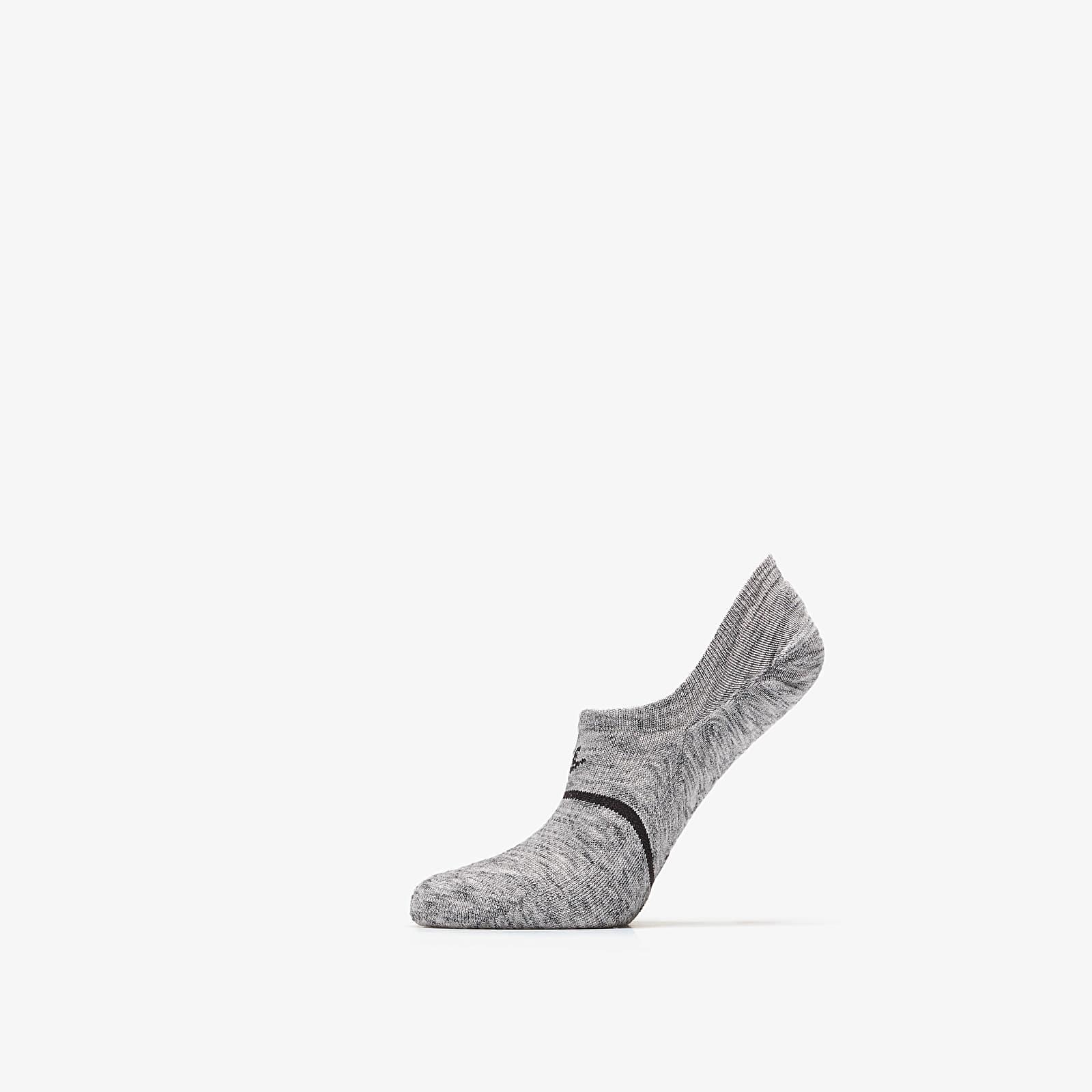 Socks Nike Sneaker Sox Essential Ns Footie Wolf Grey/ Black