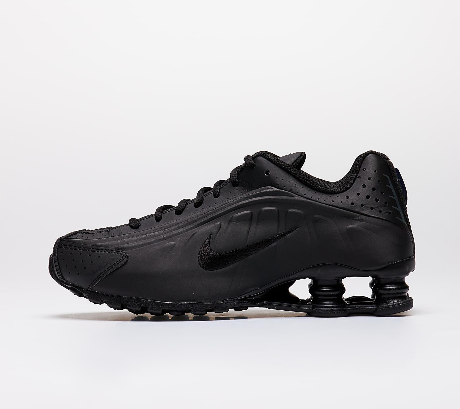 Nike Shox R4 (GS) Black/ Black-Black-White EUR 37.5