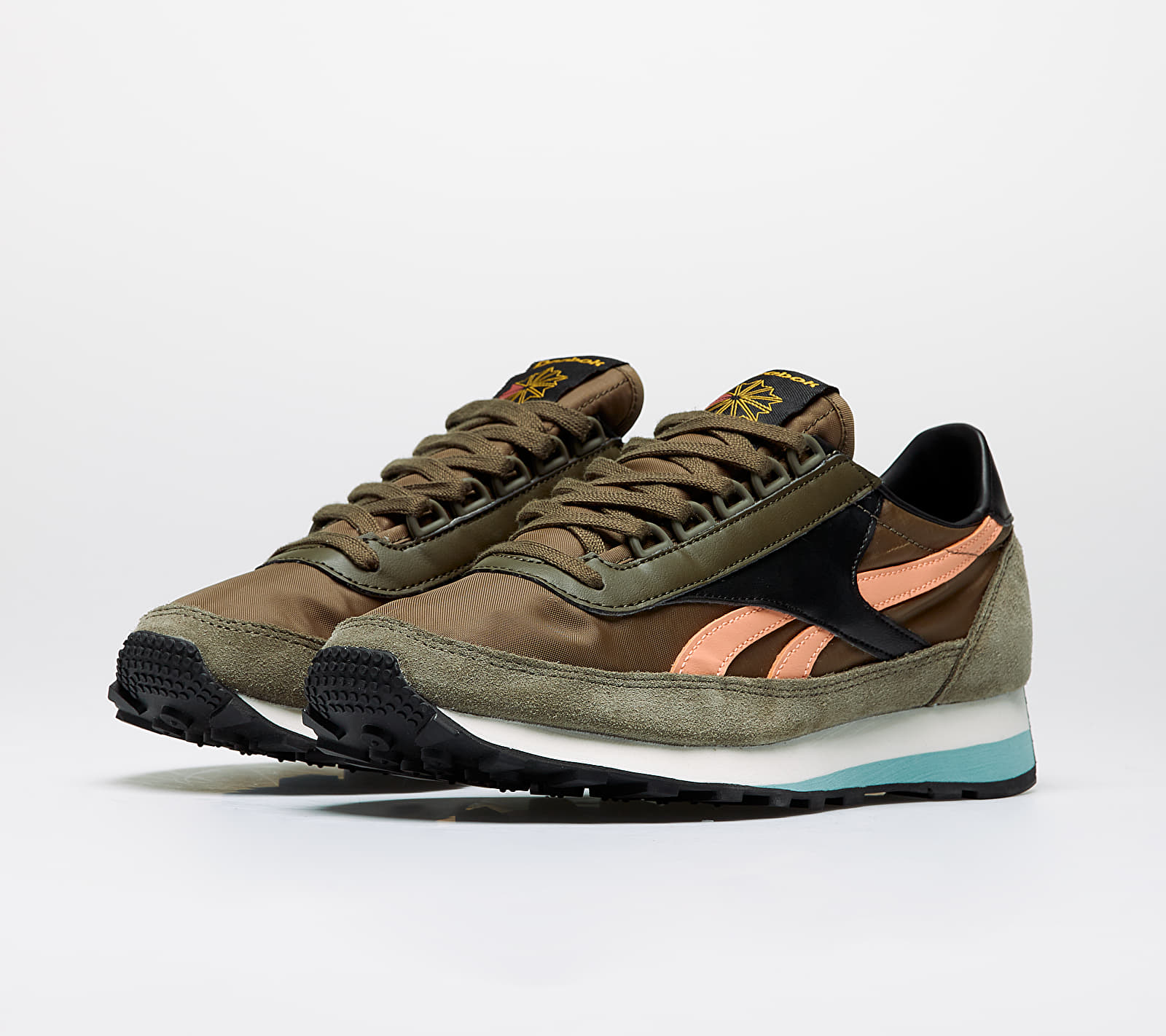 Reebok AZ 79 Army Green/ Green Slate/ Sunbaked Orange