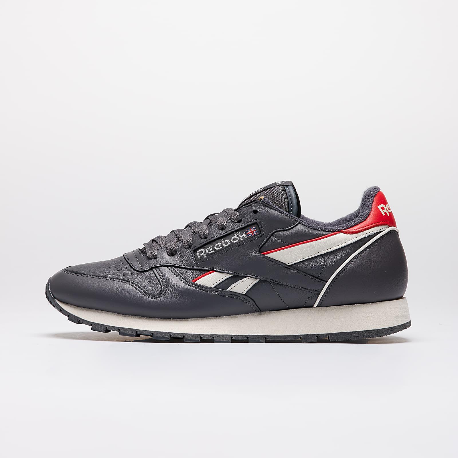 Men's shoes Reebok Classic Leather MU True Grey 7/ Chalk / Radiate Red