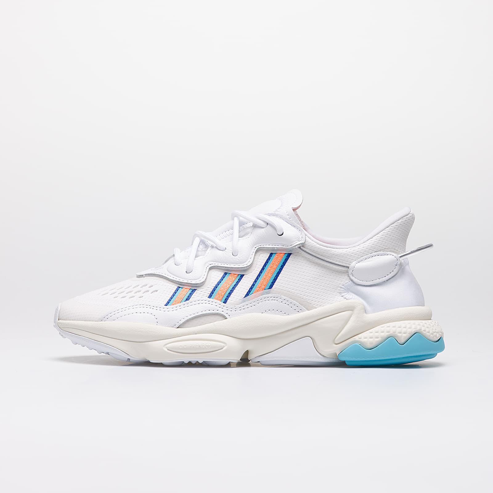 Frauen adidas Ozweego W Ftw White/ Signature Coral/ Blue Glow