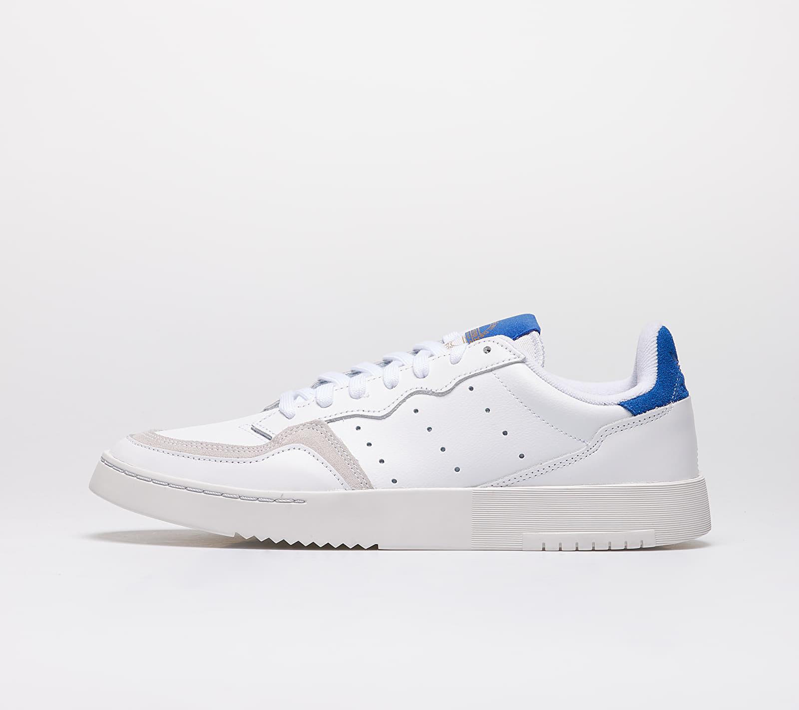 adidas Supercourt Ftw White/ Ftw White/ Royal Blue EUR 41 1/3