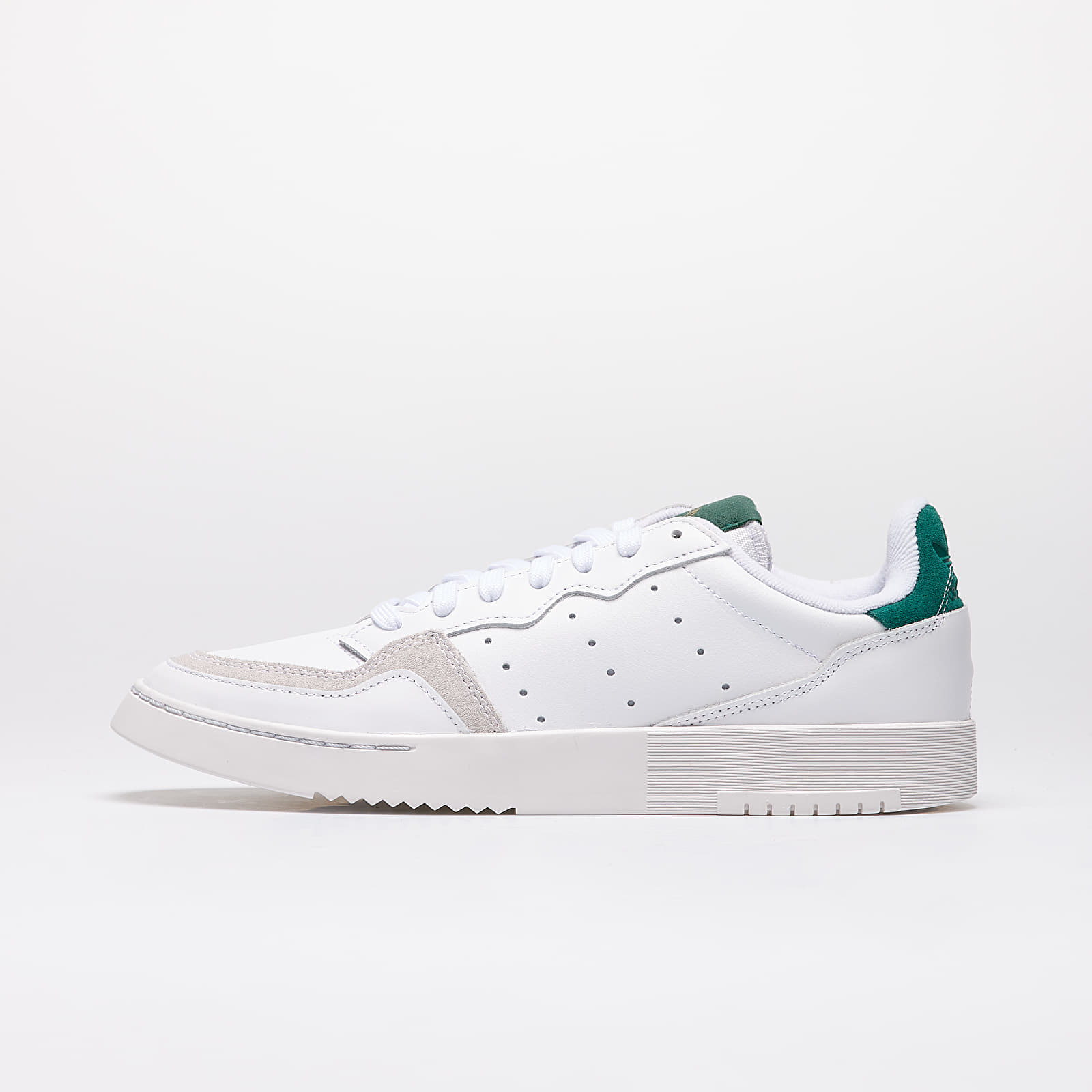 Men's shoes adidas Supercourt Ftw White/ Ftw White/ Core Green