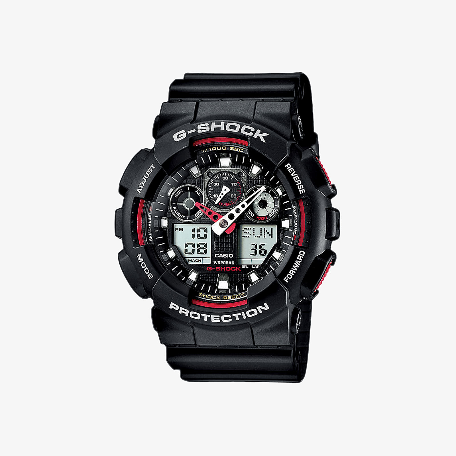Karórák G-Shock Watch Black/ Red