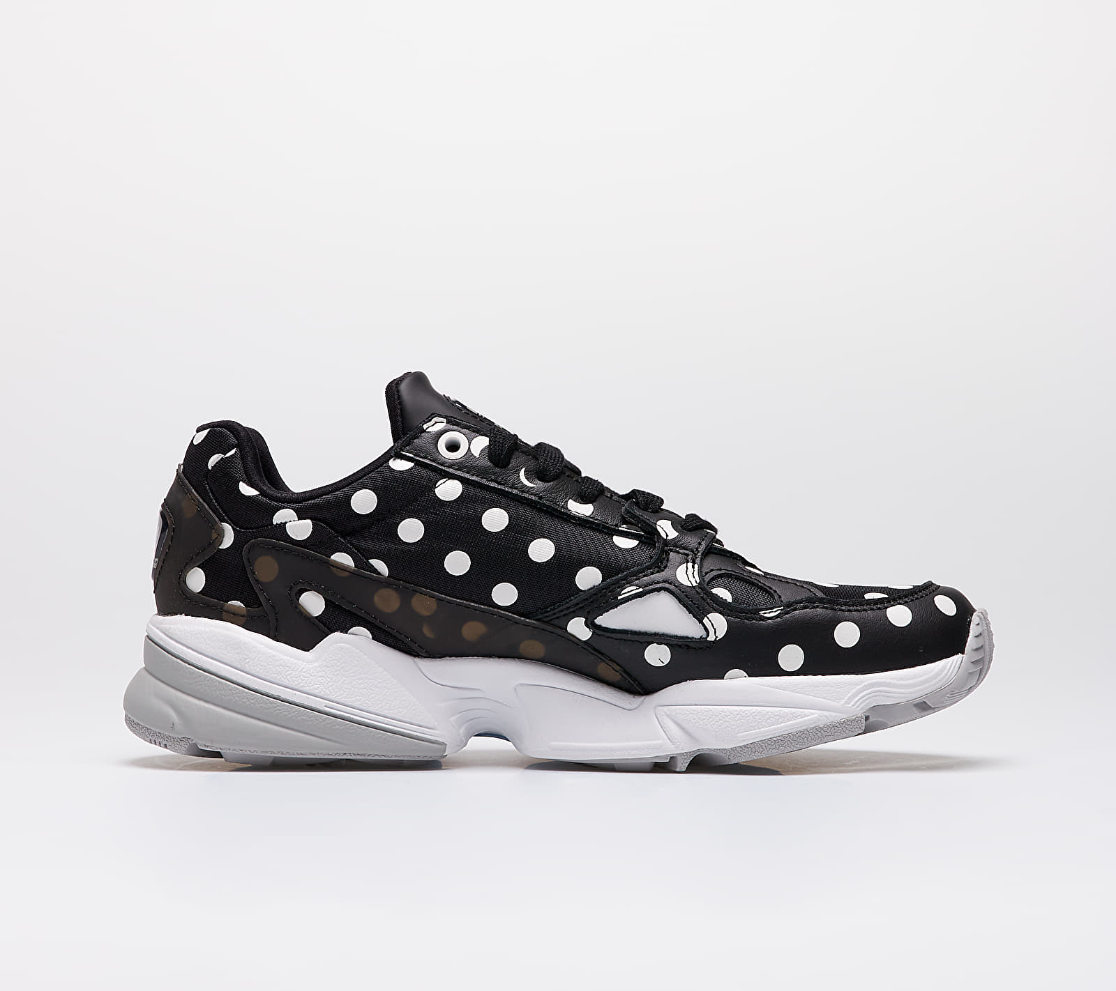 adidas Falcon W Core Black/ Crystal White/ Grey Two