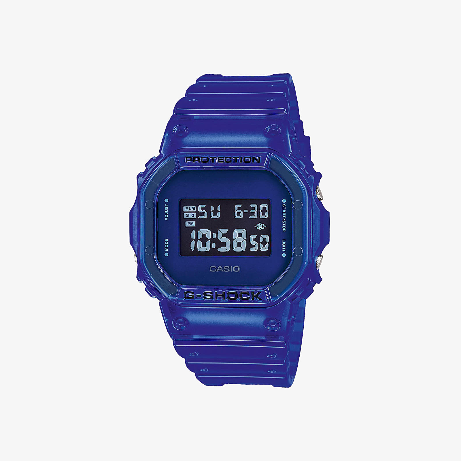 Watches Casio G-Shock Original Color Skeleton Series Watches Blue