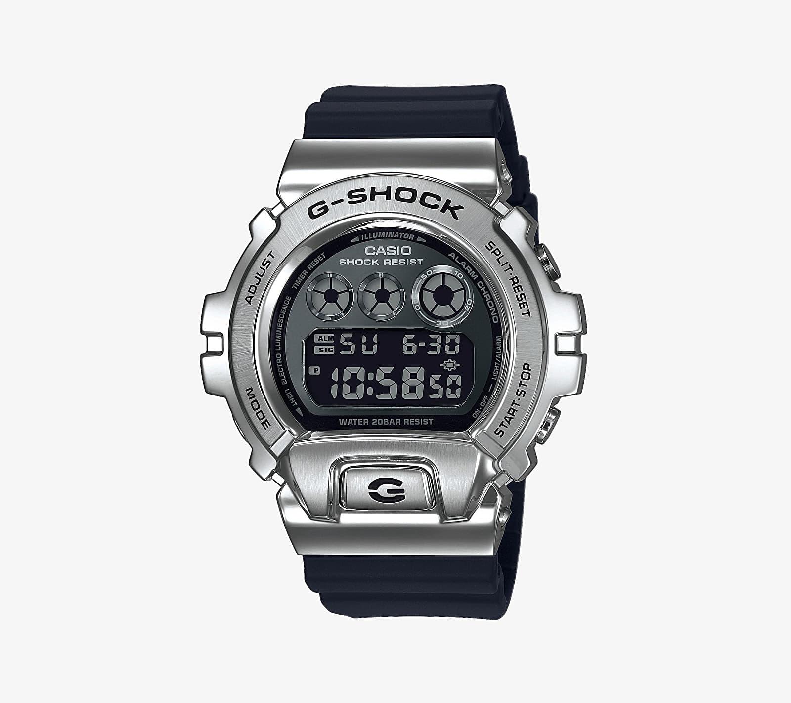 Casio G-Shock Premium GM-6900-1ER Watch Silver/ Black univerzálna