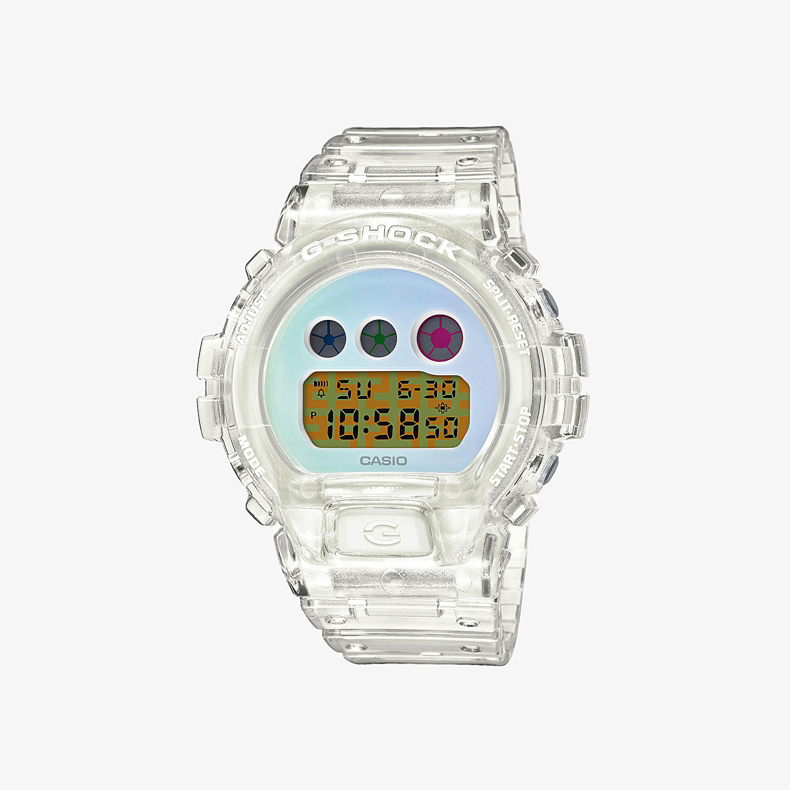 Zegarki Casio G-Shock 25th Anniversary Limited Edition DW-6900SP-7ER Watches Transparent