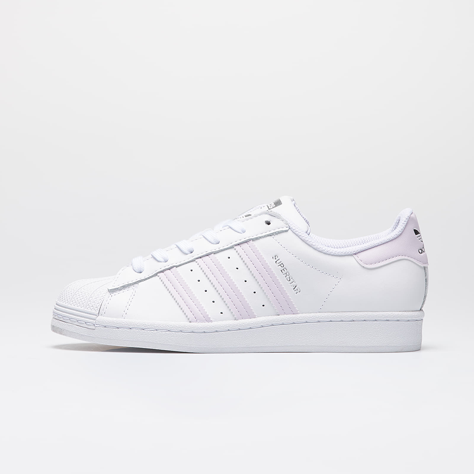 Női cipők adidas Superstar W Ftw White/ Purple Tint/ Silver Metalic