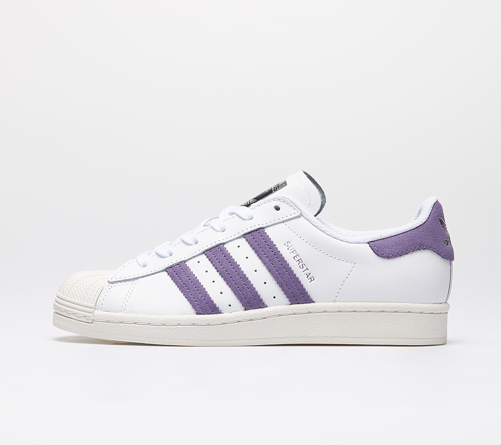 adidas Superstar W Ftw White/ Tech Purple/ Off White EUR 41 1/3