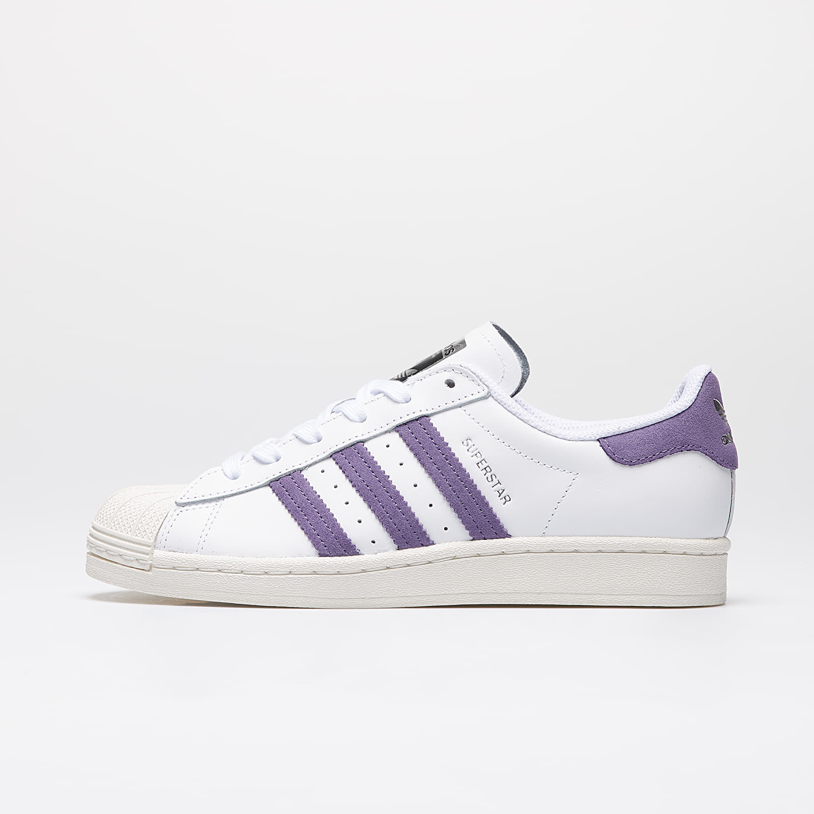 Chaussures et baskets femme adidas Superstar W Ftw White/ Tech Purple/ Off White