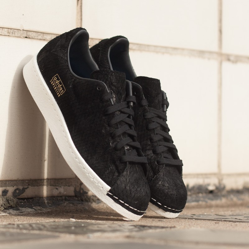 f9076d29e978c adidas Superstar 80s Clean Core Black Off White