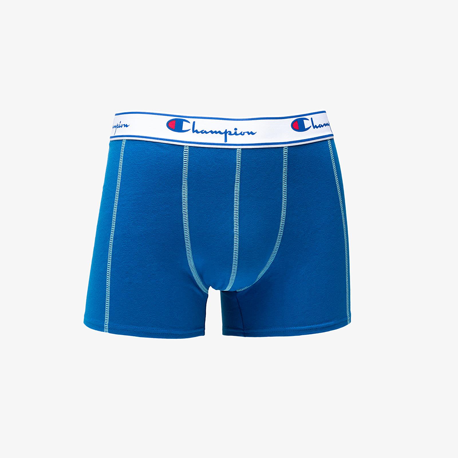 Männerunterwäsche Champion 3Pack Boxer Grey/ Navy/ Blue