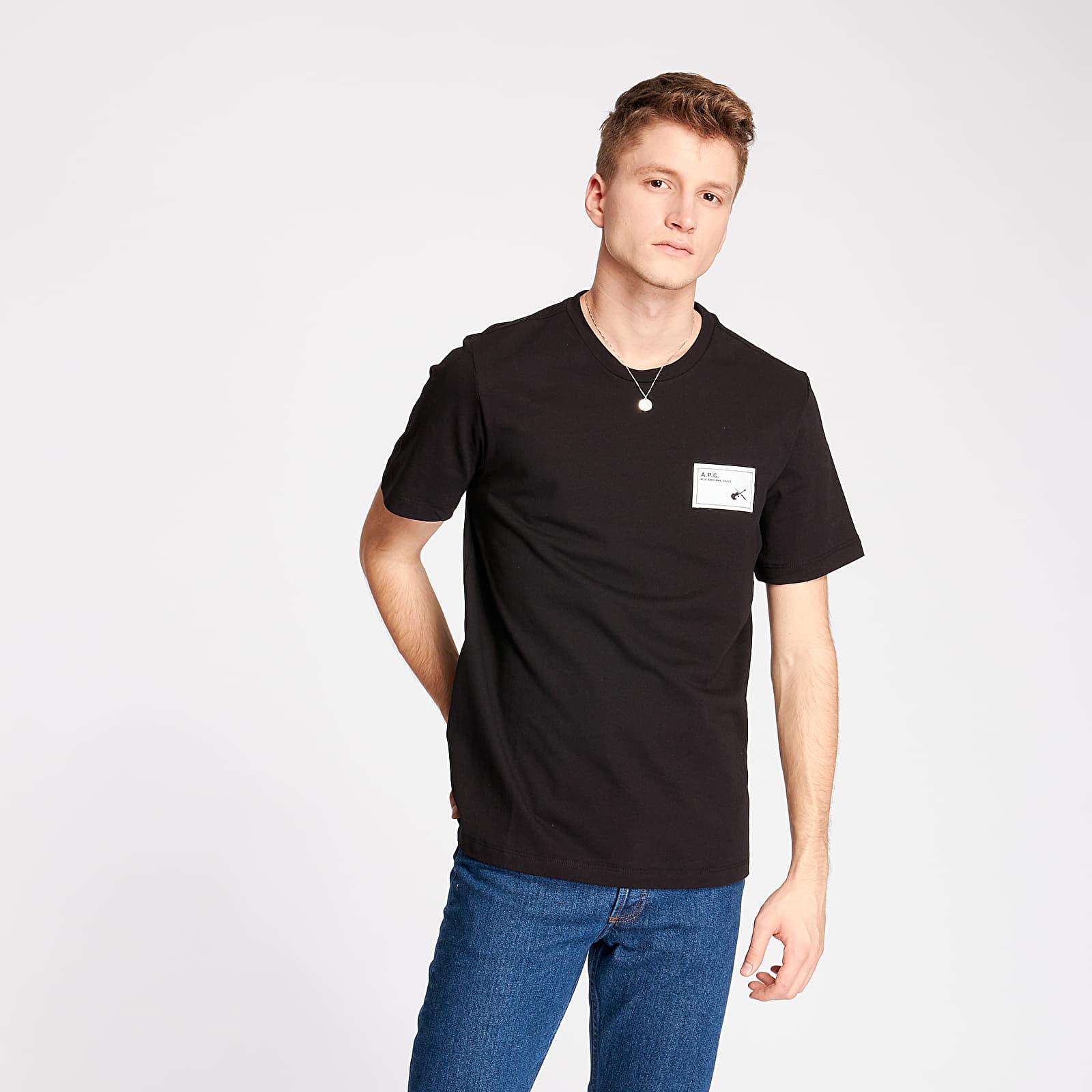 T-shirts A.P.C. Pepper Tee Black