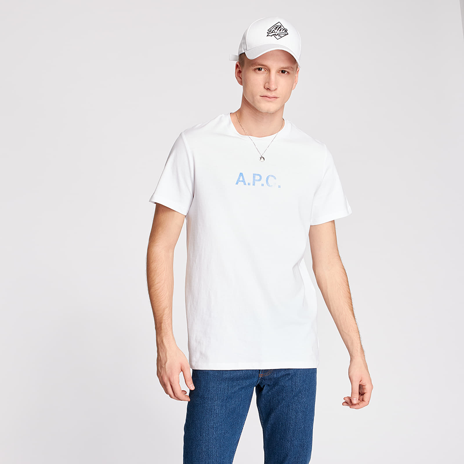 T-shirts A.P.C. Stamp Tee White