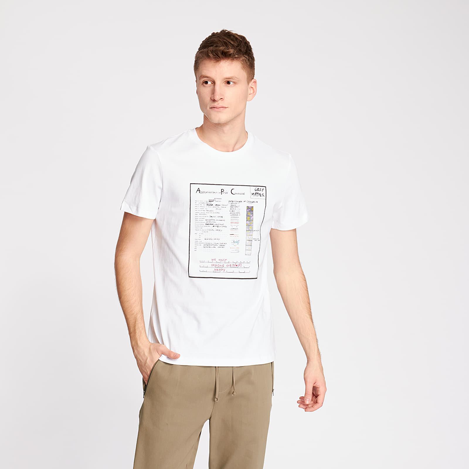 T-shirts A.P.C. Anatomic Tee White