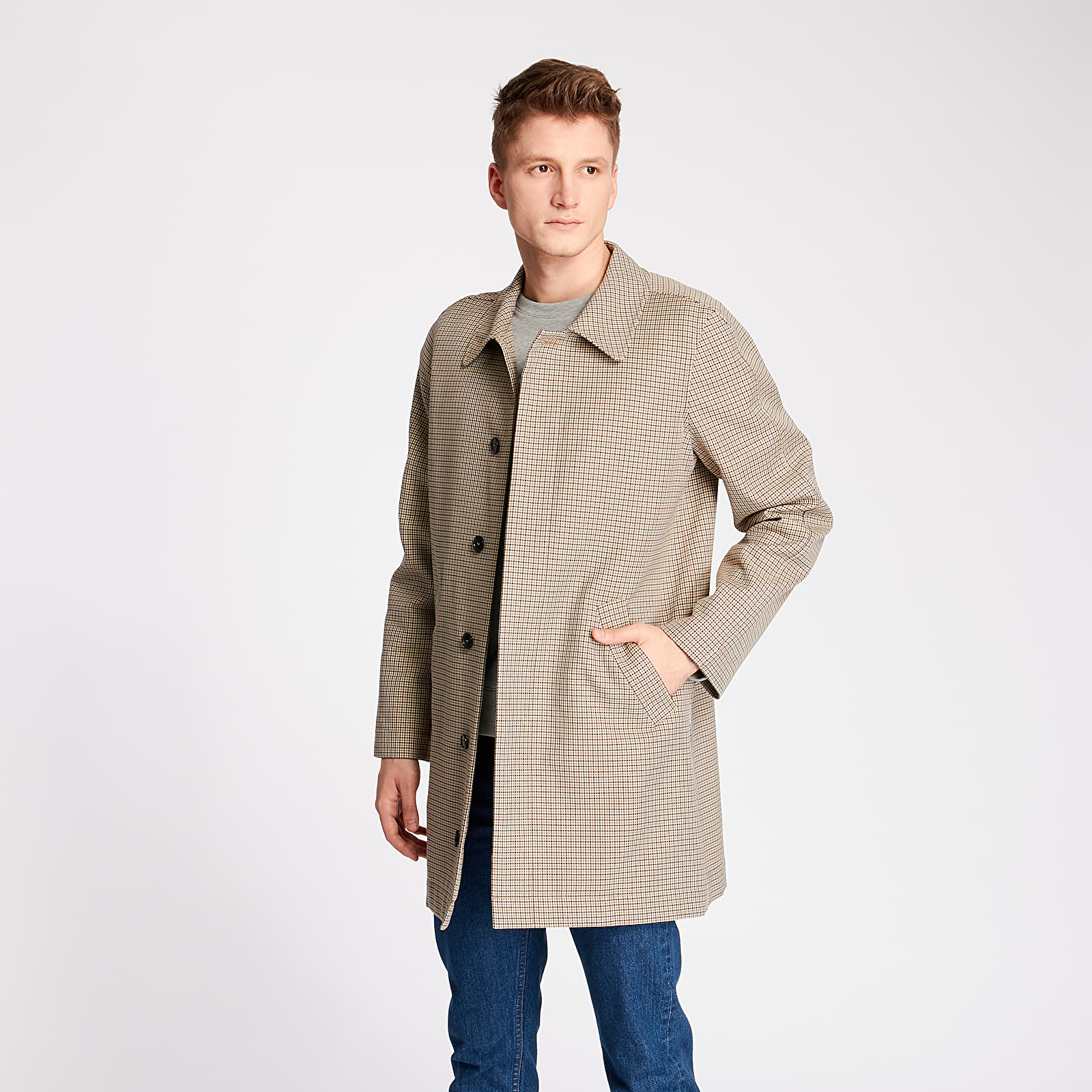 Coats A.P.C. Phil Mac Coat Beige