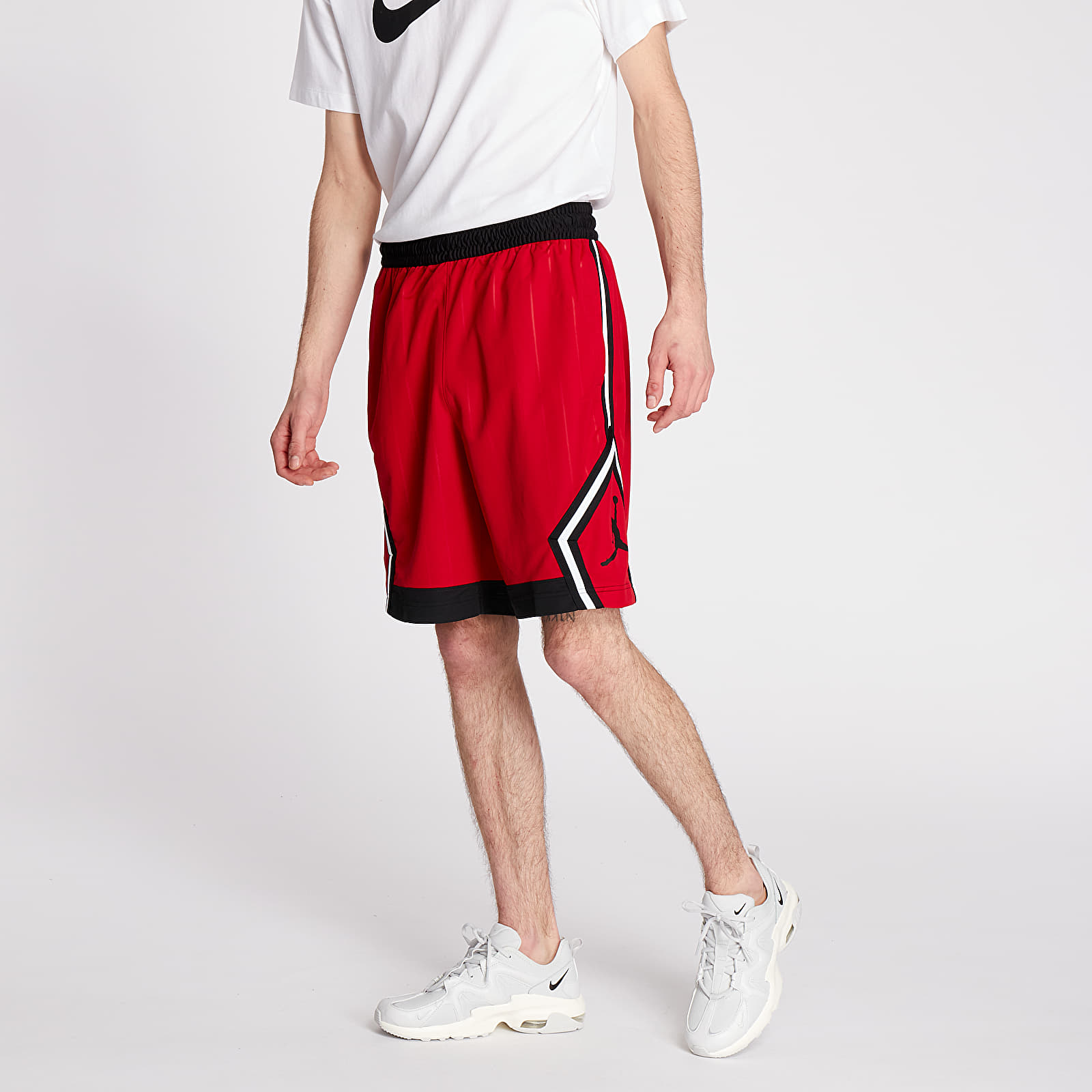 Jordan Diamond Striped Shorts
