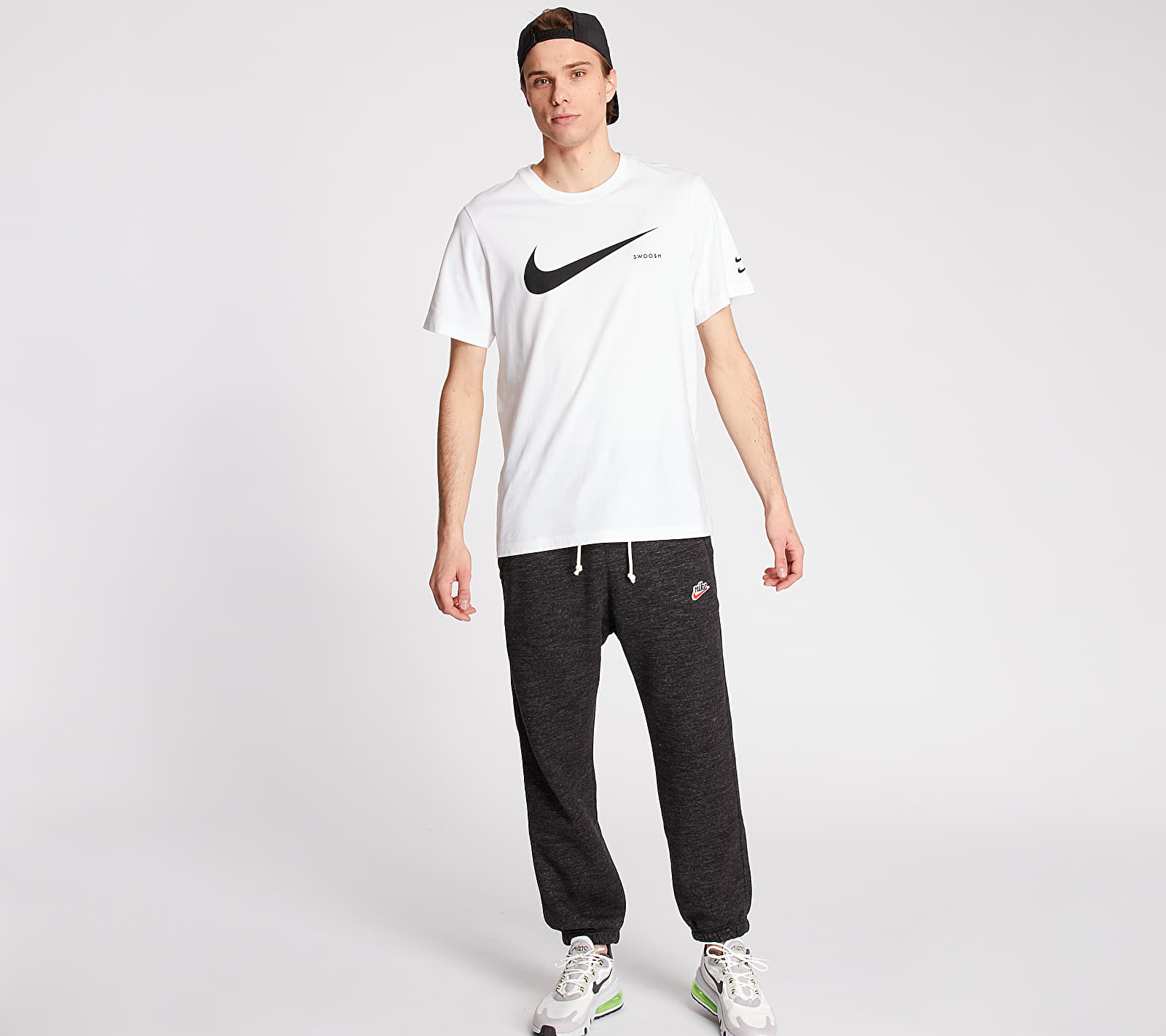 Nike Sportswear Heritage SB Jogger Pants Black/ Htr/ Sail