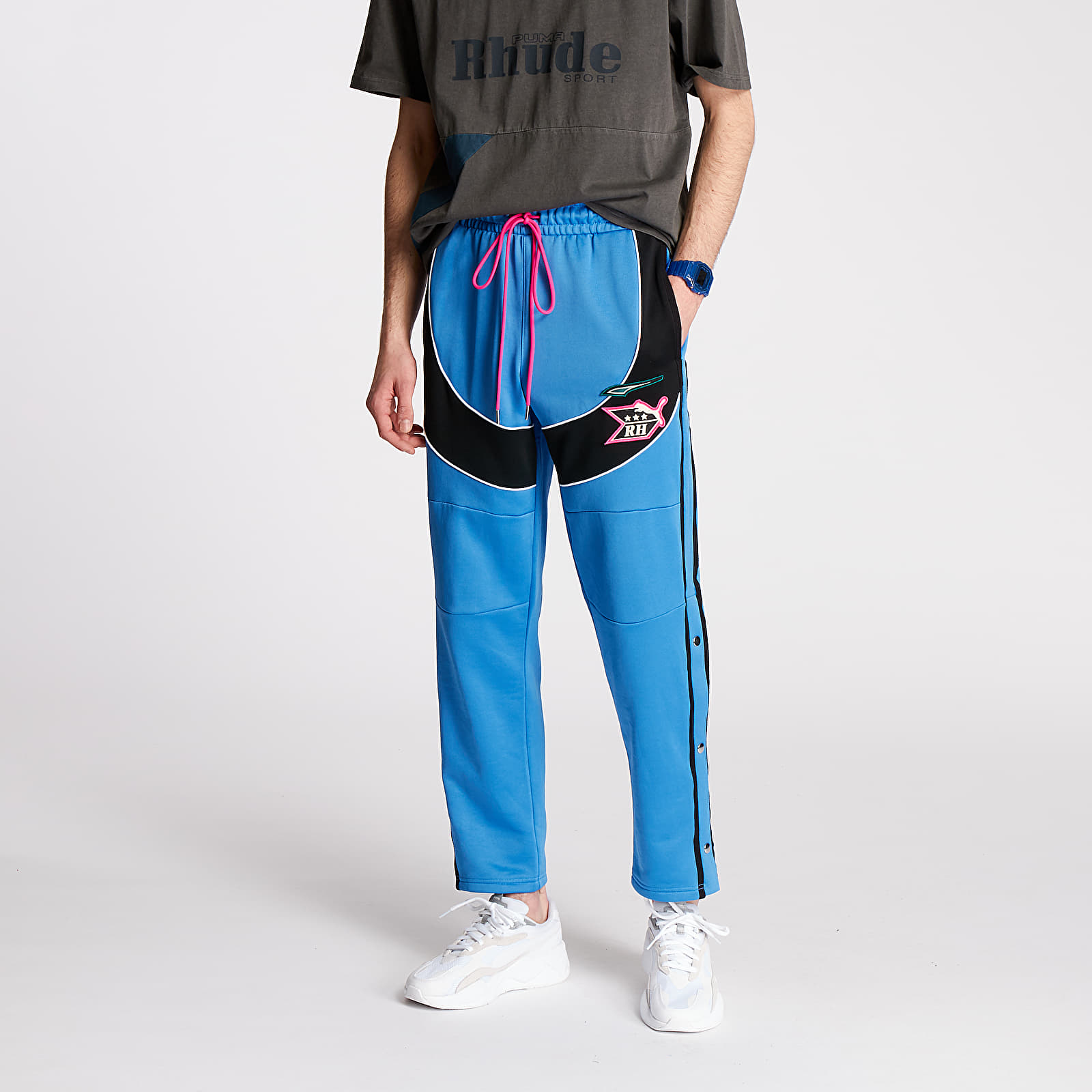 Hosen und Jeans Puma x Rhude Track Pants Palace Blue