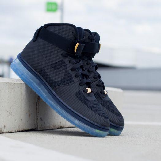 Nike Air Force 1 CMFT LUX BlackBlack Metallic Gold | Footshop