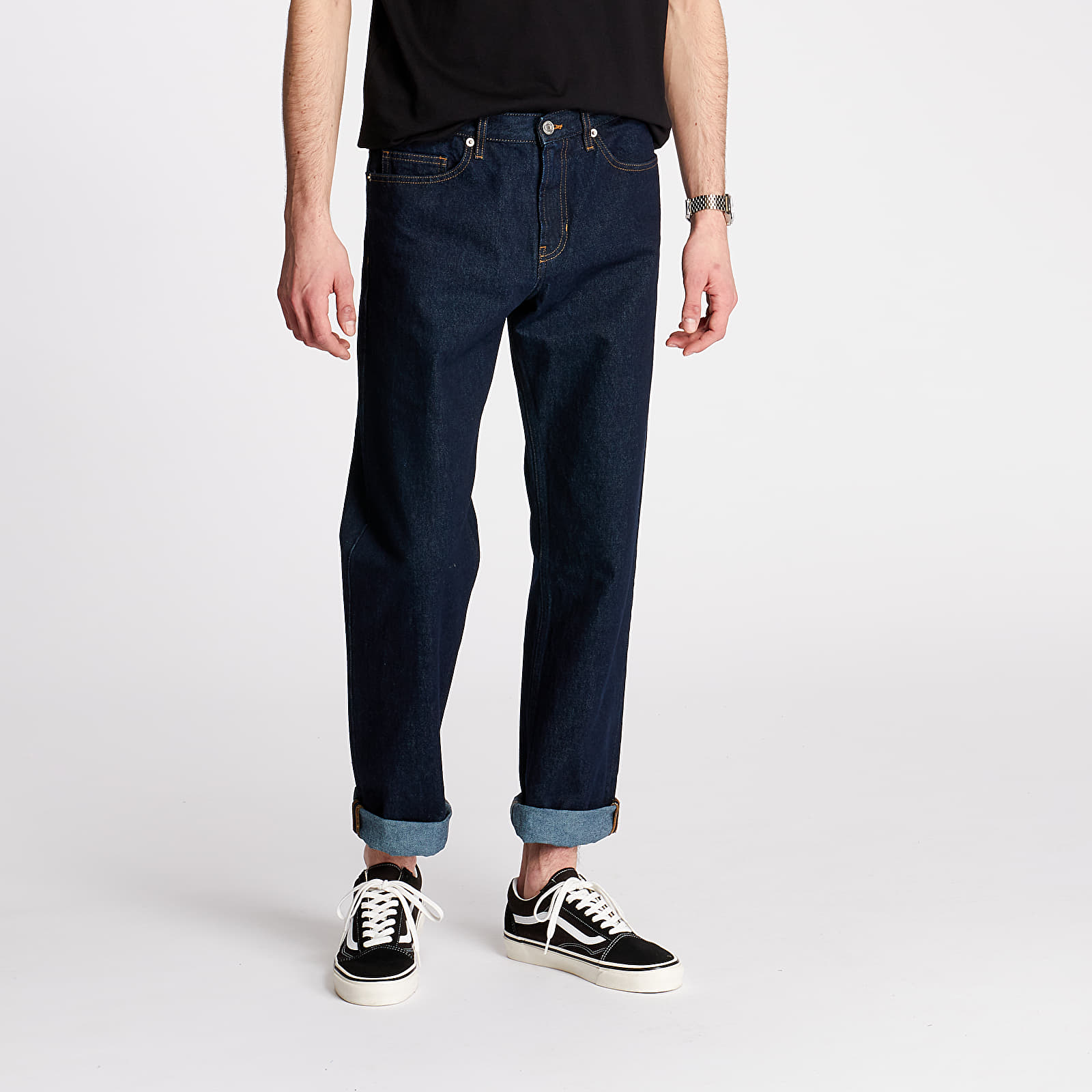 Pants and jeans Norse Projects Regular Denim Indigo