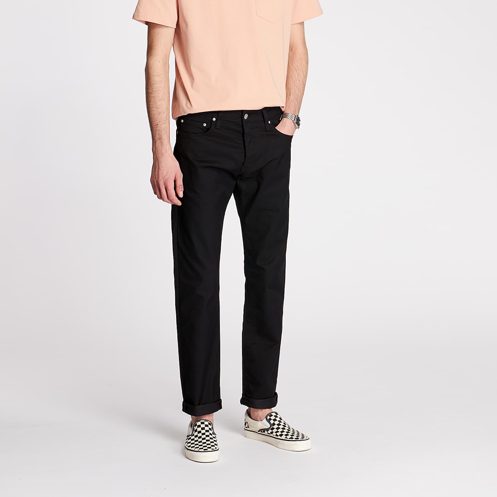 Džíny a kalhoty Carhartt WIP Klondike Pants Black