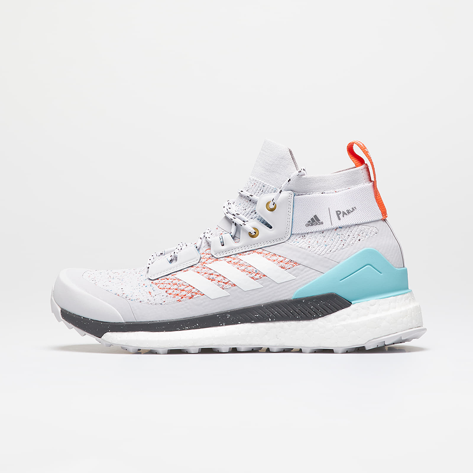 Men's shoes adidas x Parley Terrex Free Hiker Dash Grey/ Ftw White/ True Orange