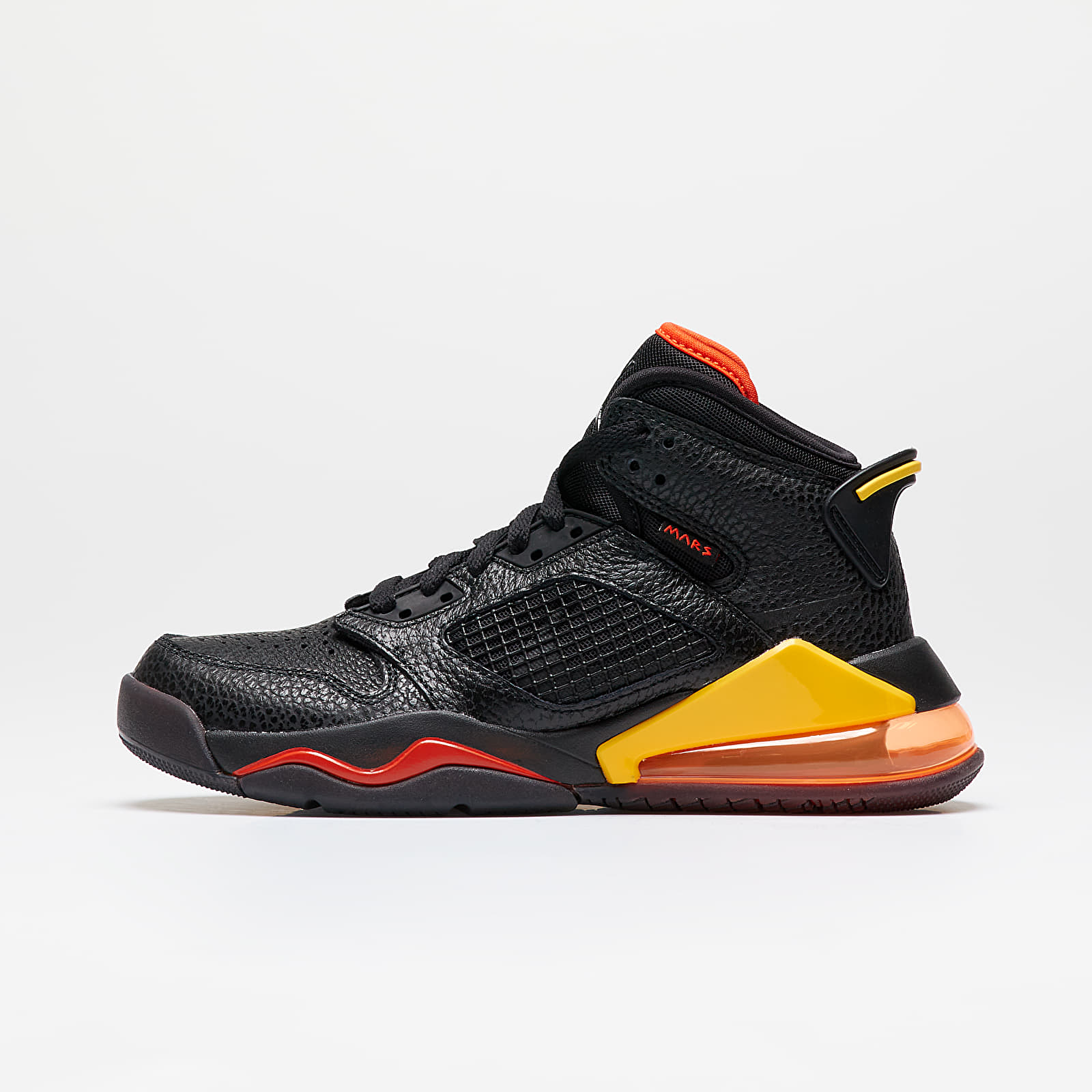 Gyerek Jordan Mars 270 (GS) Black/ Black-Team Orange-Amarillo