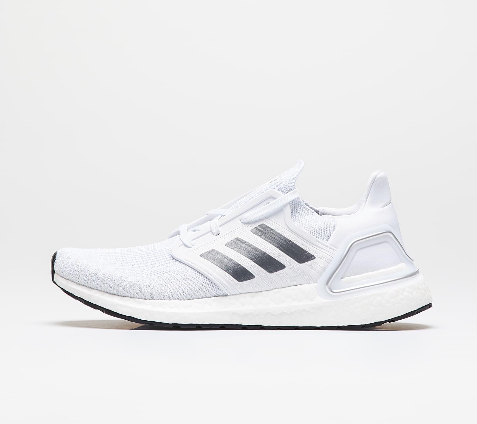 adidas UltraBOOST 20 Ftw White/ Night Metalic/ Dash Grey EUR 43 1/3