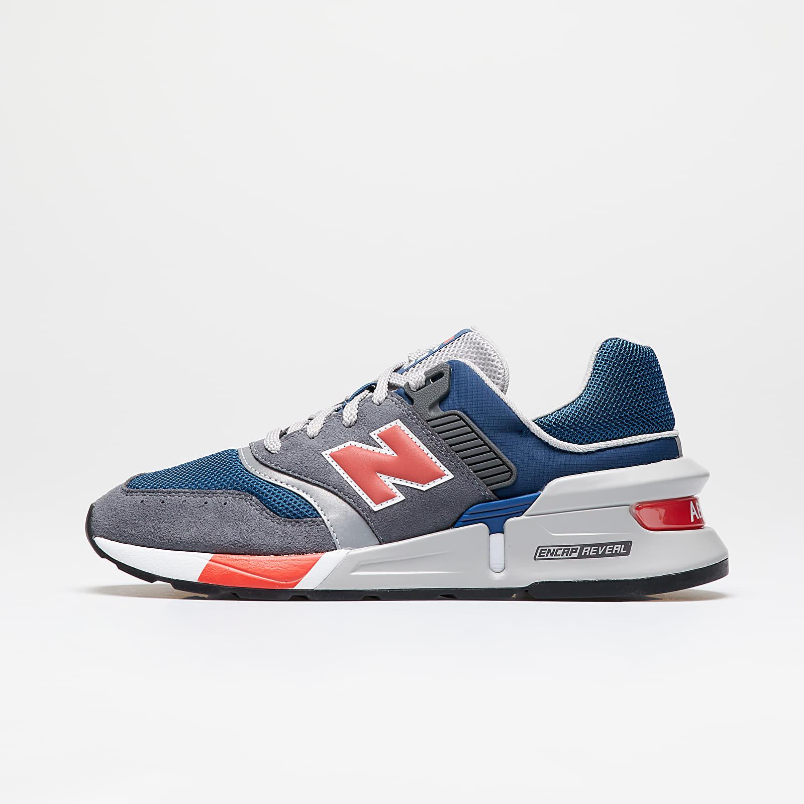 Pánské tenisky a boty New Balance 997 Gray/ Red