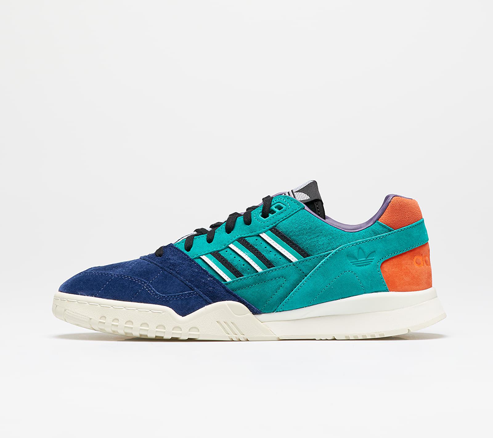 adidas A.R. Trainer Glow Green/ Tech Indigo/ Solar Orange EUR 42 2/3