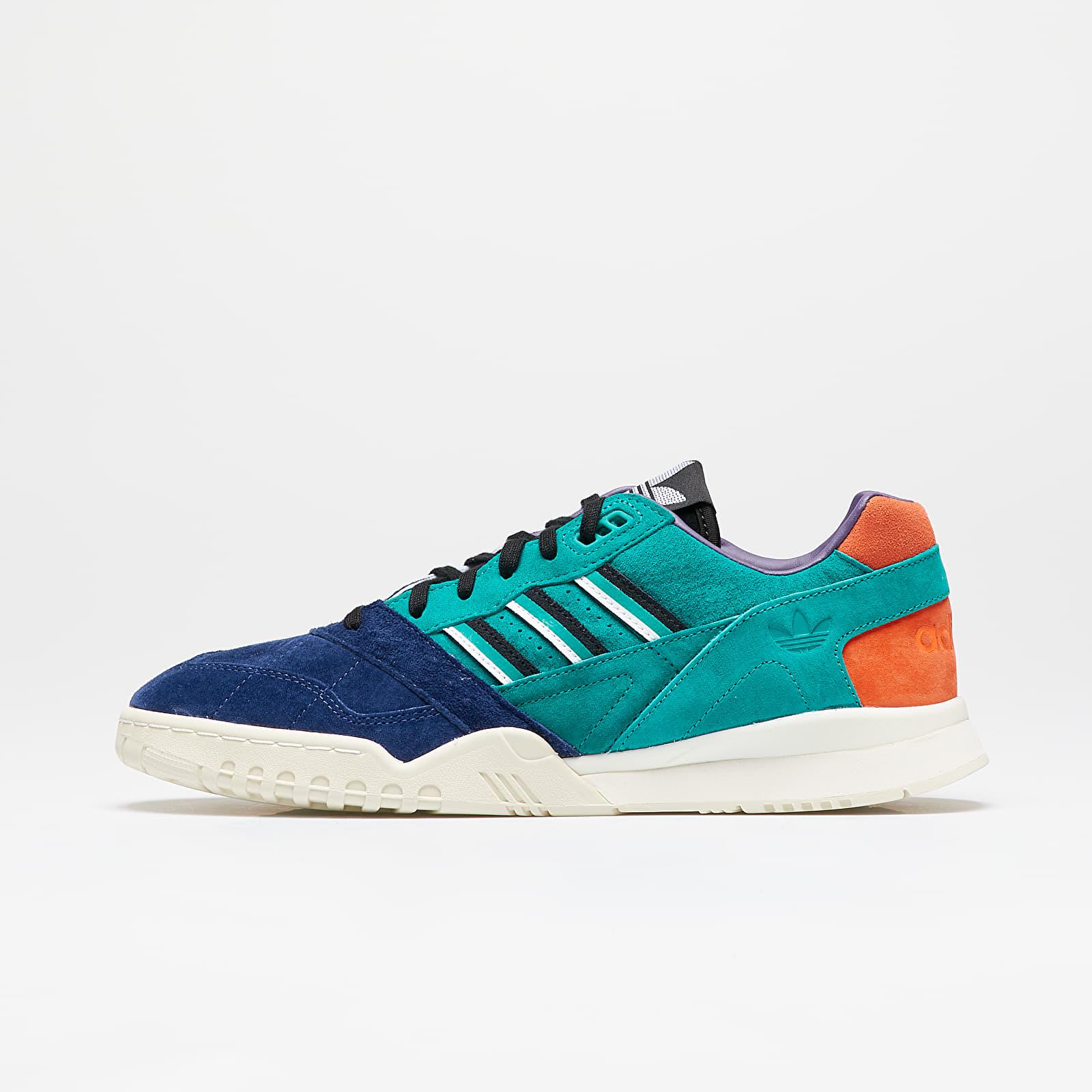 Pánské tenisky a boty adidas A.R. Trainer Glow Green/ Tech Indigo/ Solar Orange